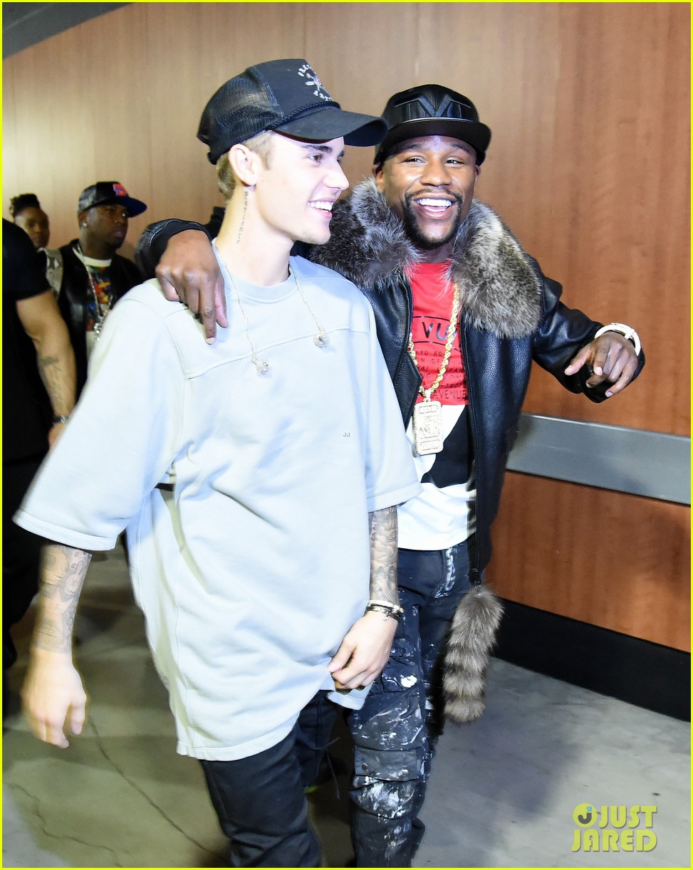 floyd mayweather justin bieber file photos 05