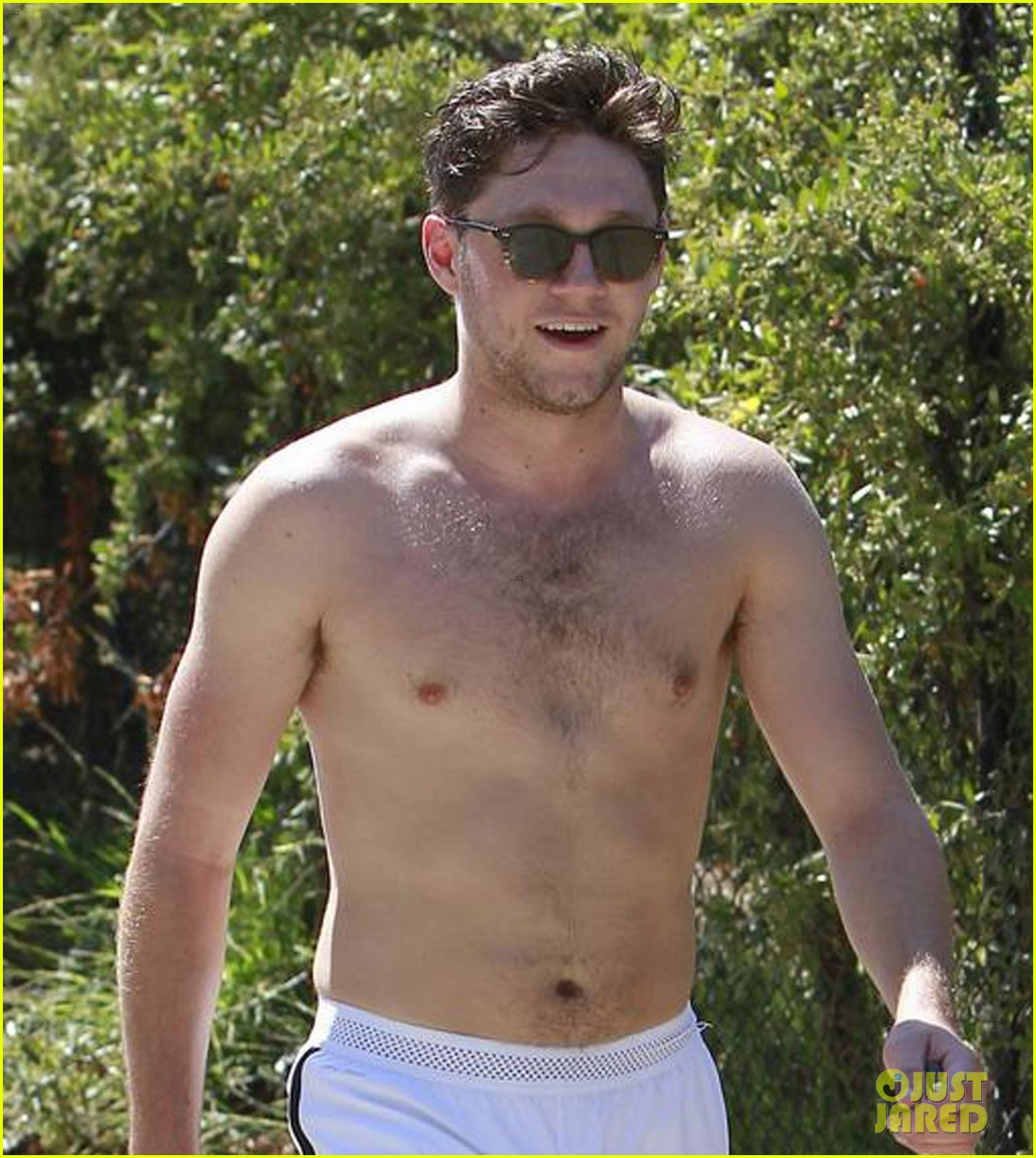 niall horan goes for shirtless hike at las runyon canyon 07