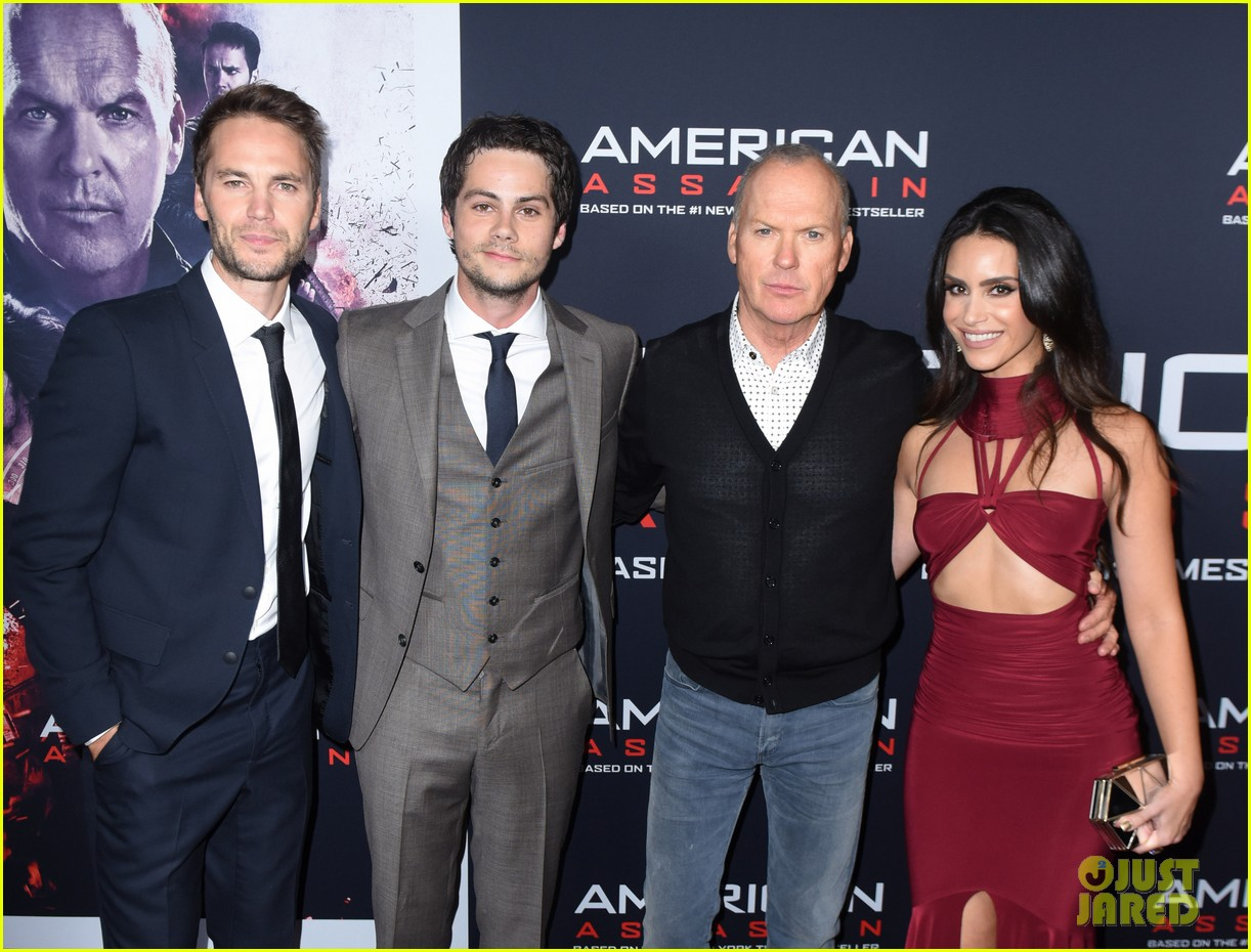 tyler posey supports dylan obrien at american assassin la premiere 05