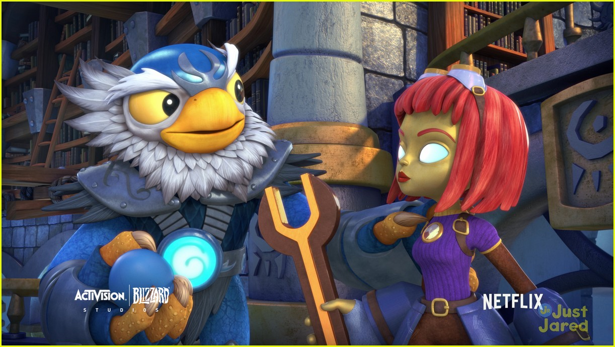 ashley tisdale skylanders stealth elf interview 13