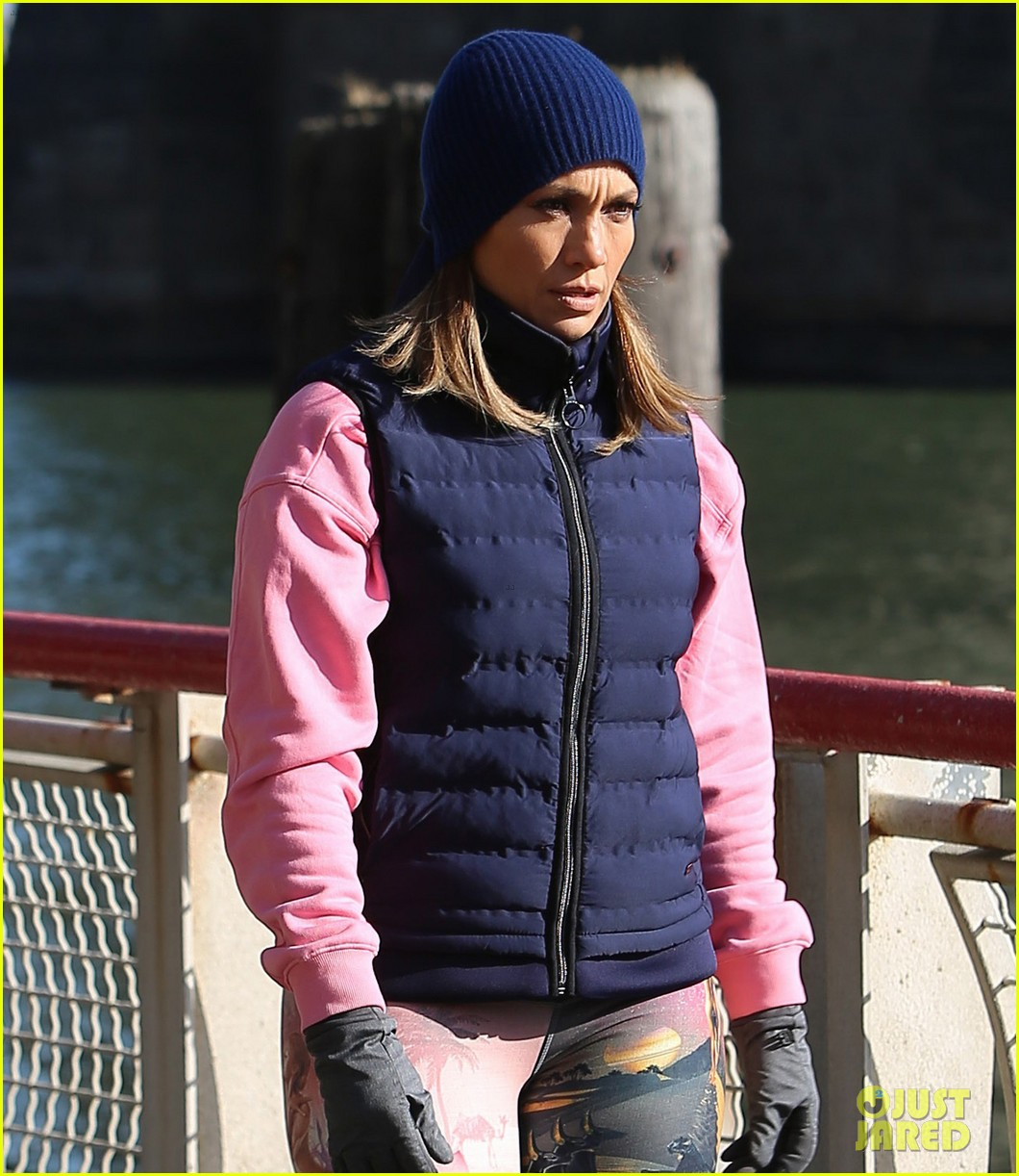 jennifer lopez gets back to work on second act with vanessa hudgens leah remini 04