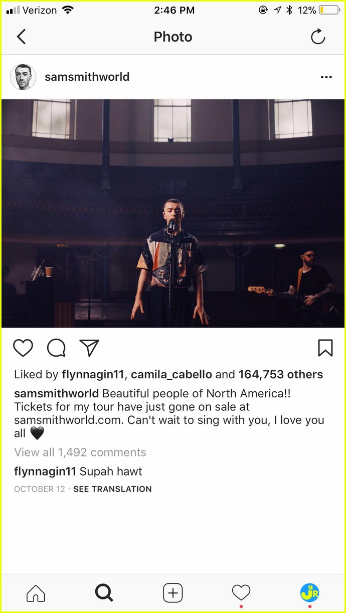 sam smith brandon flynn instagram comments to each other are the cutest 03