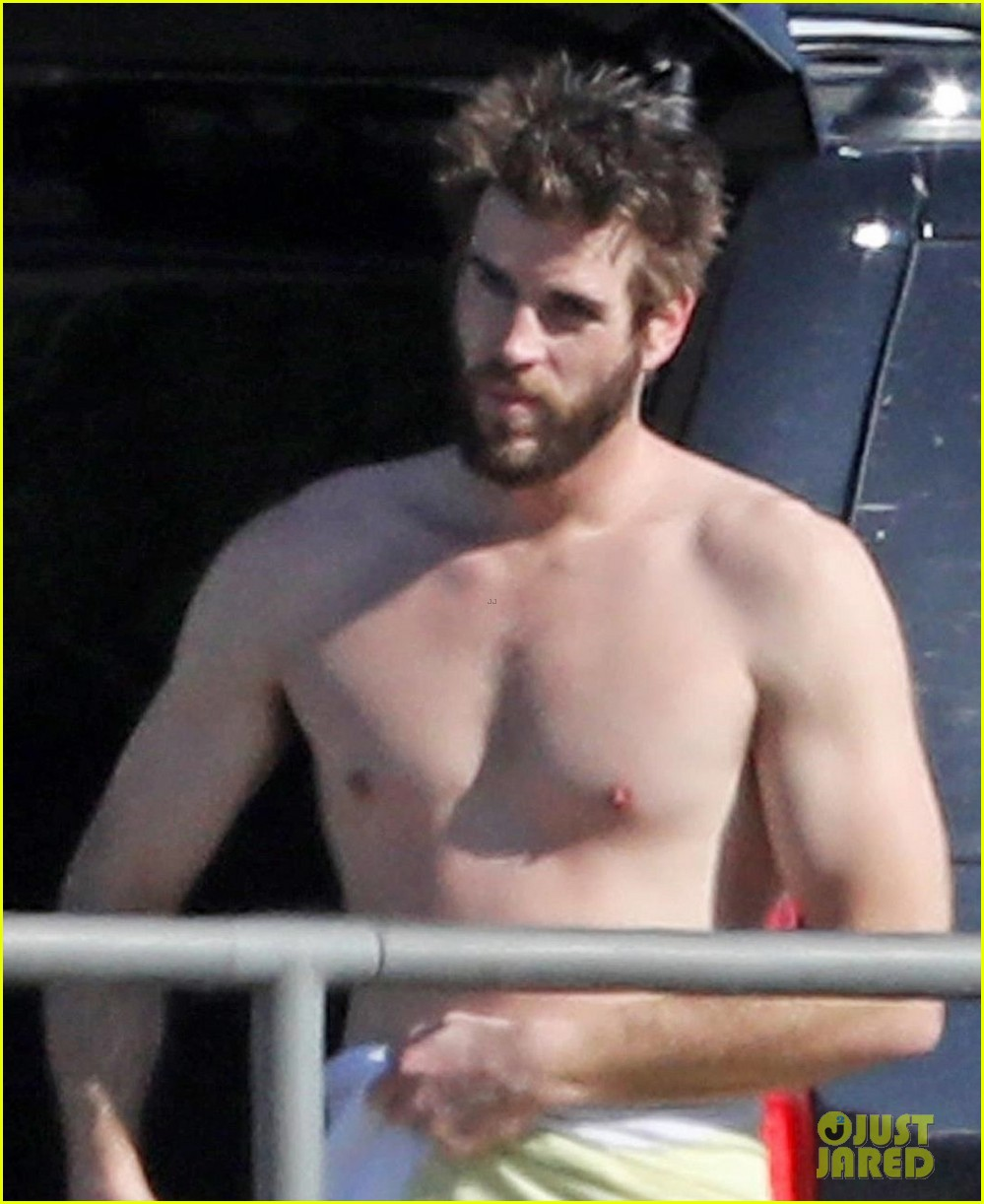 liam hemsworth gets shirtless after surfing in malibu see pics 05