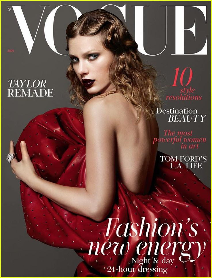 taylor swift british vogue